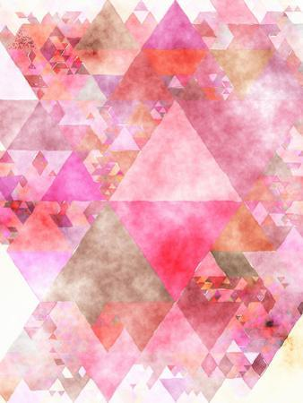 Triangles Abstract Pattern 16 by Grab My Art
