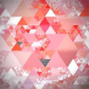 Triangles Abstract Pattern - Square 24 by Grab My Art