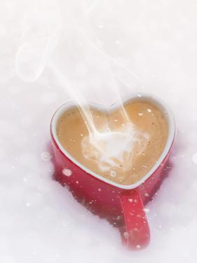 Winter Christmas Love Mug by Grab My Art