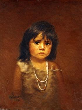 Indian Child with Tear by Grace Carpenter Hudson