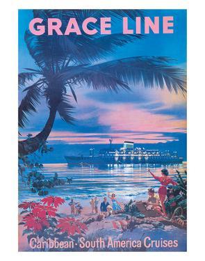 Grace Line, Caribbean c.1958