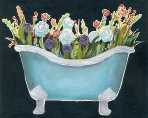 2-Up Bathtub Garden II by Grace Popp