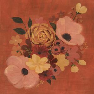 Burnt Orange Bouquet II by Grace Popp