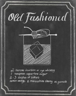 Chalkboard Cocktails I by Grace Popp