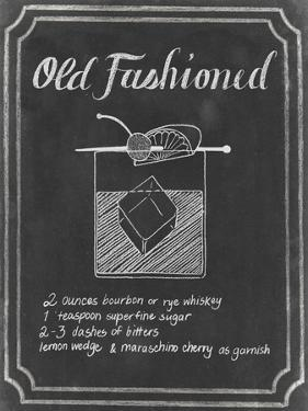 Chalkboard Cocktails I by Grace Popp