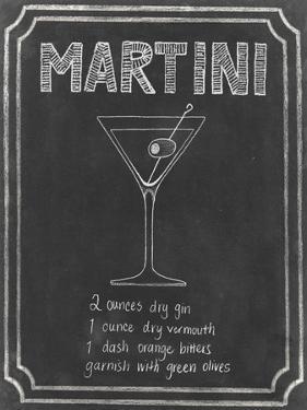 Chalkboard Cocktails III by Grace Popp