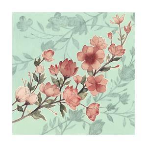 Cherry Blossom Shadows I by Grace Popp