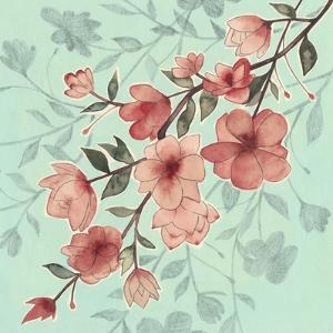 Cherry Blossom Shadows II by Grace Popp
