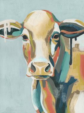 Colorful Cows I by Grace Popp