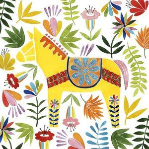 Festive Otomi III by Grace Popp