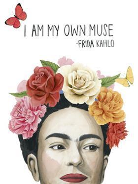 Frida's Flowers I by Grace Popp