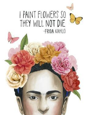 Frida's Flowers II by Grace Popp