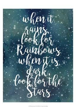 Galaxy Quote I by Grace Popp