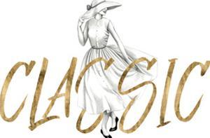 Gilded Fashion Figures II by Grace Popp