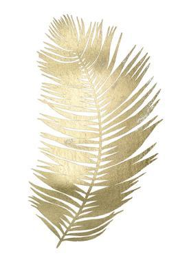 Gold Foil Untethered Palm II by Grace Popp
