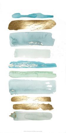 Gold Sea Strokes I by Grace Popp