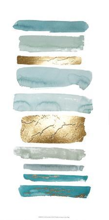 Gold Sea Strokes II by Grace Popp