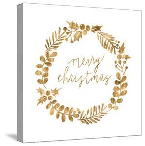 Golden Christmas III by Grace Popp