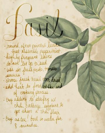 Herb Study I by Grace Popp