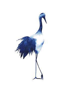 Ink Drop Crane I by Grace Popp