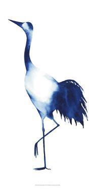 Ink Drop Crane II by Grace Popp