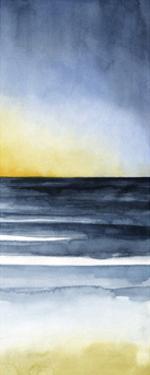 Layered Sunset Triptych III by Grace Popp