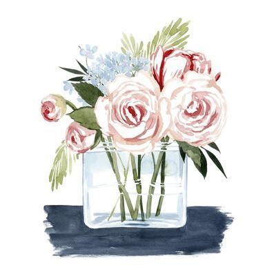 Loose Watercolor Bouquet II