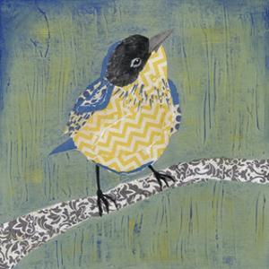 Patchwork Wren II by Grace Popp