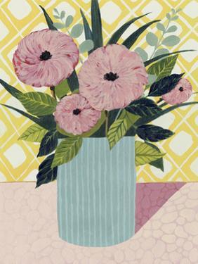Retro Bouquet I by Grace Popp