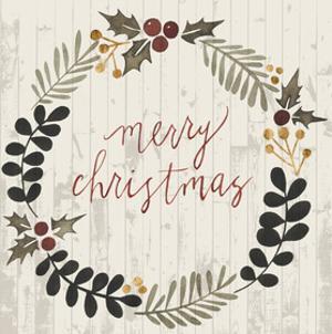 Rustic Christmas III by Grace Popp