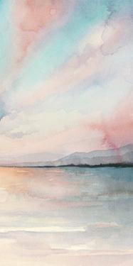 Sea Sunset Triptych III by Grace Popp