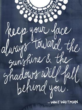 Sun Quote II by Grace Popp
