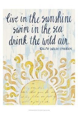 Sunny Day Words I by Grace Popp