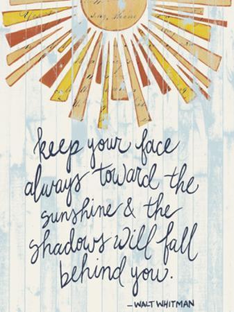 Sunny Day Words II by Grace Popp