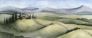 Watercolor Tuscany III by Grace Popp