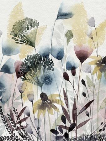 Watercolor Wildflower I