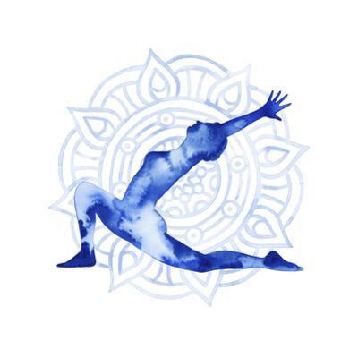 Yoga Flow II by Grace Popp