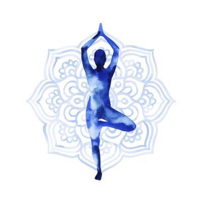 Yoga Flow III by Grace Popp