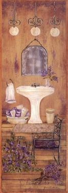 Bath in Lavender I by Grace Pullen