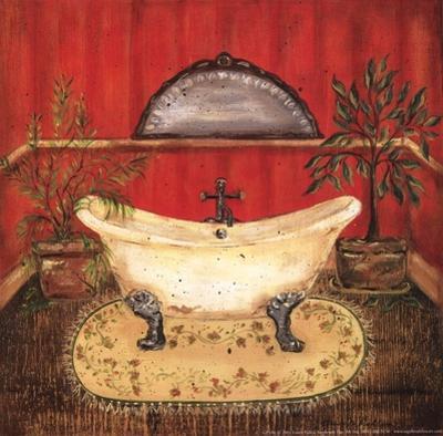Bath in Red II by Grace Pullen