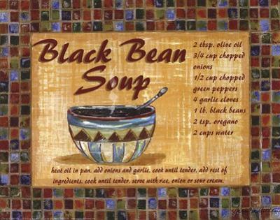 Black Bean Soup by Grace Pullen