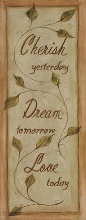 Cherish, Dream, Love by Grace Pullen