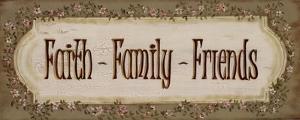 Faith Family Friends by Grace Pullen