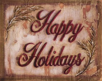 Happy Holidays by Grace Pullen