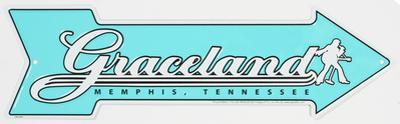 Graceland Tin Sign