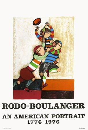 An american portrait by Graciela Rodo Boulanger