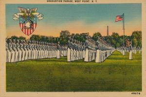 Graduation Parade, West Point, New York, C1940S