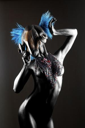 Masked Nude by Graeme Montgomery