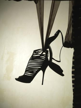 Strappy Shoe Silhouette by Graeme Montgomery