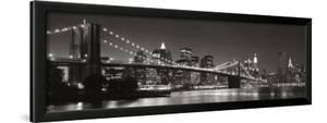 Brooklyn Bridge and Manhattan Skyline by Graeme Purdy